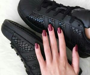 adidas, beauty, and nails image