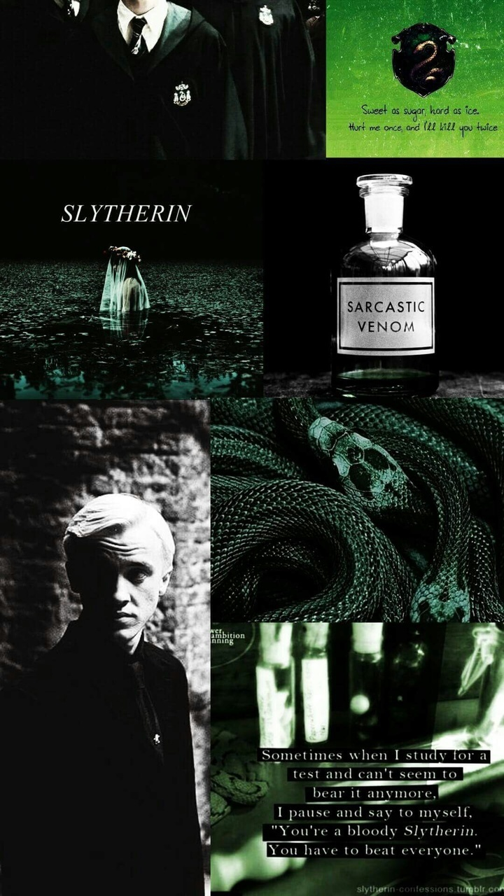 Slytherin Wallpaper Shared By Lifeislife69 On We Heart It