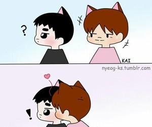 exo, jongin, and kaisoo image
