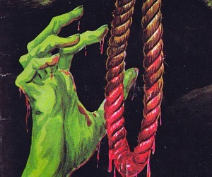 noose, psychobilly, and zombie image
