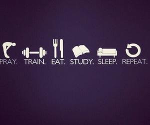 study, train, and pray image
