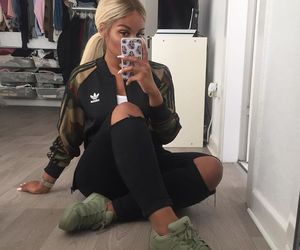 adidas, style, and jeans image