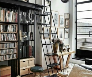 ladder, apartment, and house image