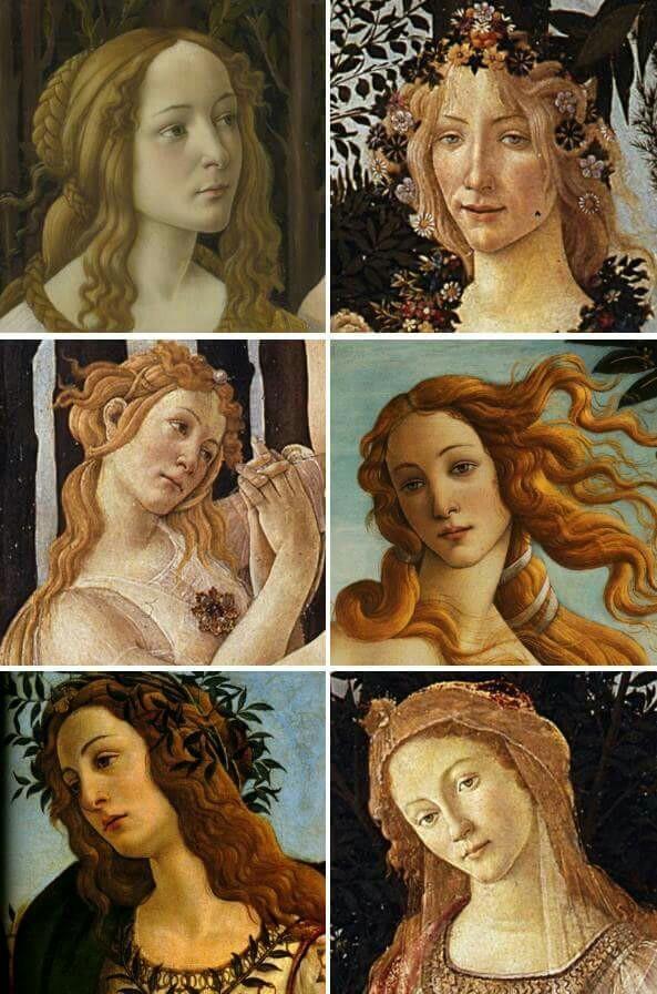 art, botticelli, and Venus image