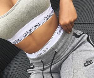 Calvin Klein, nike, and grey image