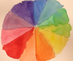 color, color wheel, and tumblr image