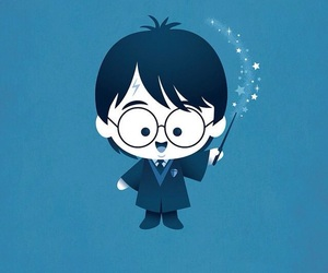 harry potter, magic, and hogwarts image