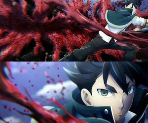 anime, god eater, and fight image