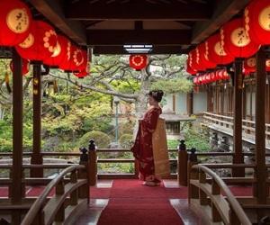 geisha, traditional, and geiko image