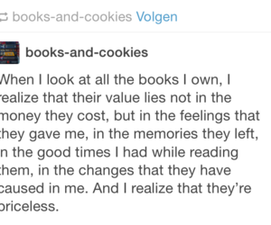 books, feeling, and priceless image