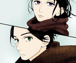 hirunaka no ryuusei, manga, and shishio satsuki image