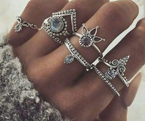 rings, accessories, and style image