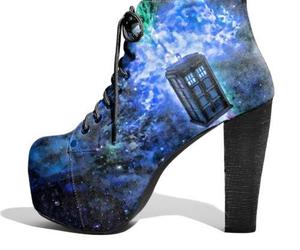 shoes, doctor who, and tardis image