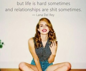 quote, Relationship, and lana del rey image