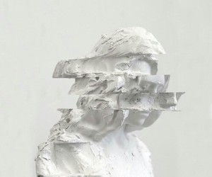grunge and white image