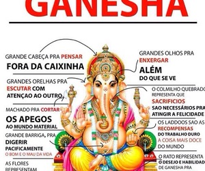 children, eyes, and Ganesha image