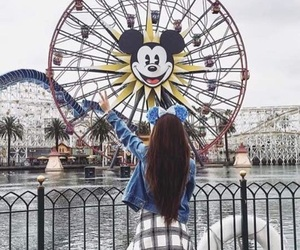 disneyland, clothes, and outfit image