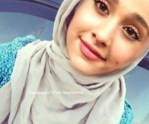 ariana grande edit, ariana grande faceswap, and ariana grande muslim image