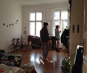 grunge, couple, and home image