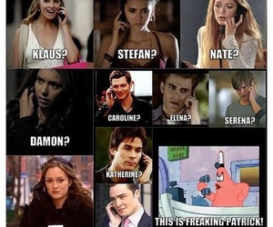 gossip girl, the vampire diaries, and patrick image