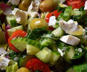 ricotta, salad, and eatclean image