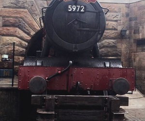 florida, steam train, and harry potter image