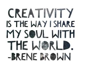 creativity, inspiration, and thoughts image