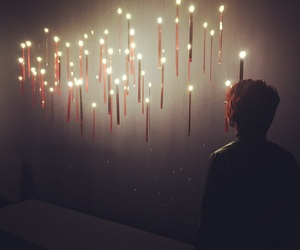 inspiration, lights, and museum image