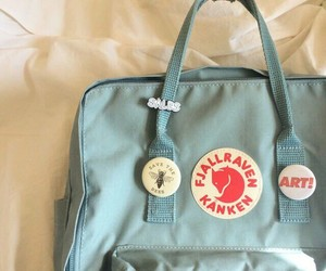 bag, aesthetic, and blue image