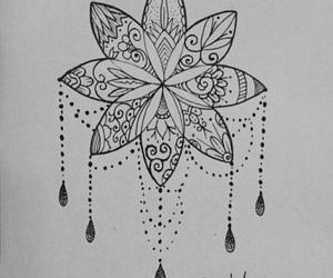 mandala, art, and tattoo image
