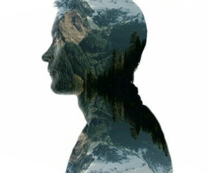 doubleexposure, man, and mystyle image