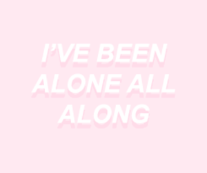 alone, colors, and pink image