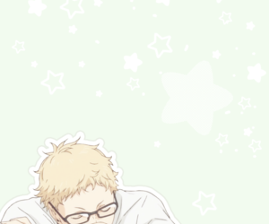anime, haikyuu!!, and tsukishima kei image