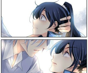 anime, manga, and spirit pact image