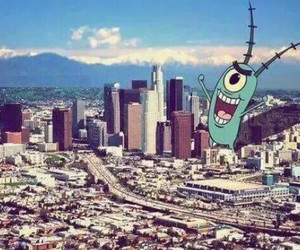 city, los angeles, and plankton image