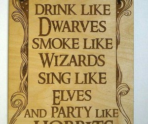 wizards, elves, and hobbits image