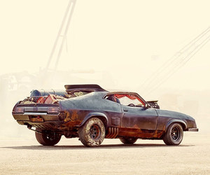 apocalypse, cars, and desert image