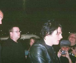gerard way, my chemical romance, and big wormy image