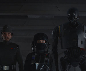 jyn erso, k2so, and cassian andor image