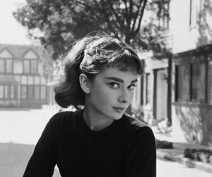 audrey, classic, and hepburn image