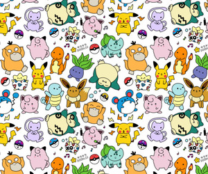 pokemon and pattern image