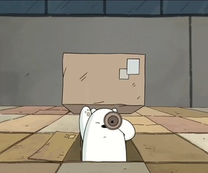 box, ice bear, and search image