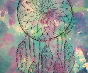 Dream, dreamcatcher, and colors image