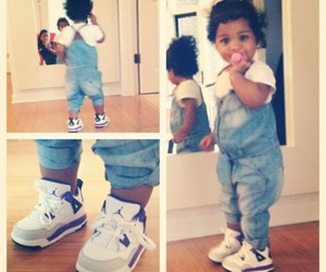 adorable, baby, and swag image