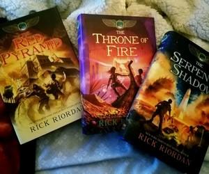 books, rick riordan, and the kane chronicles image