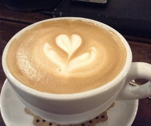coffee, coffelover, and heart image