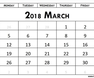 hello march, march 2018 calendar, and welcome march image