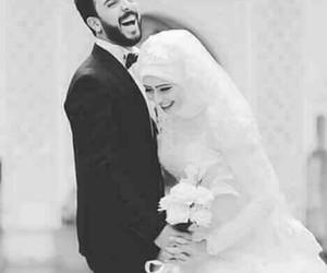 hijab, wedding, and حجاب image