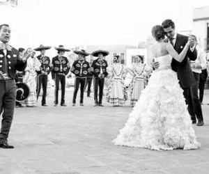 mariachi, love, and wedding image