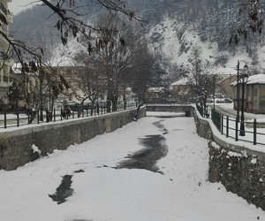Greece, snow, and winter image